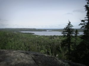 Gunflint Lake on the MN/ON border