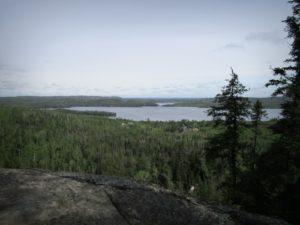 Gunflint Lake on the MN/ON border