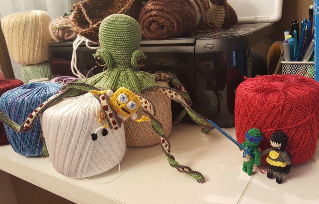 Octopus fight