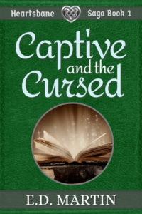 Captive and the Cursed Cover